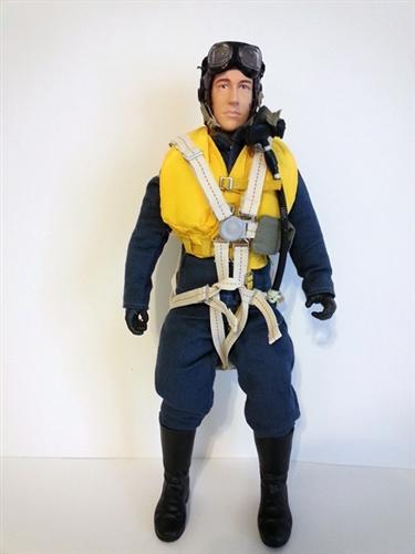 Rc Pilot Figure  British Raf Pilot Figure