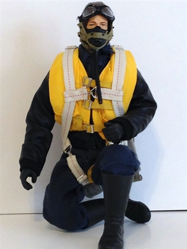 Rc Pilot Figure Wwii American Usaaf Pilot 1 7th Scale 1