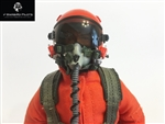 1/7~1/8 Modern Jet RC Pilot Figure (Orange)