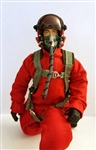 1/7~1/8 Modern Jet RC Pilot Figure (Red)