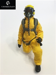1/7~1/8 Modern Jet RC Pilot Figure (Yellow)
