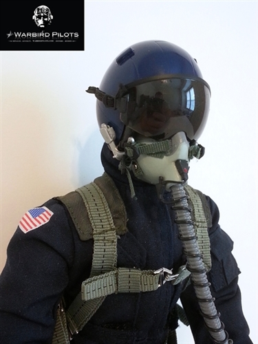 1 5 1 6 Modern Jet Rc Pilot Figure Blue