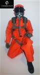 1/5~1/6 Modern Jet RC Pilot Figure (Orange)