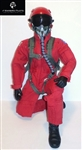1/5~1/6 Modern Jet RC Pilot Figure (Red)