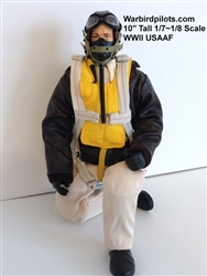 1/7~1/8 WWII American USAAF RC Pilot Figure