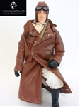 1/4.5~1/4 WWI American / British RC Pilot Figure