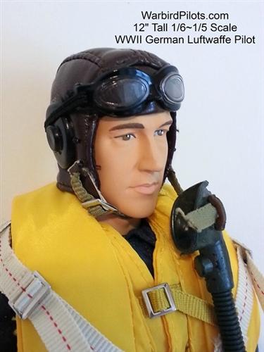 1 5 1 6 Wwii German Luftwaffe Rc Pilot Figure