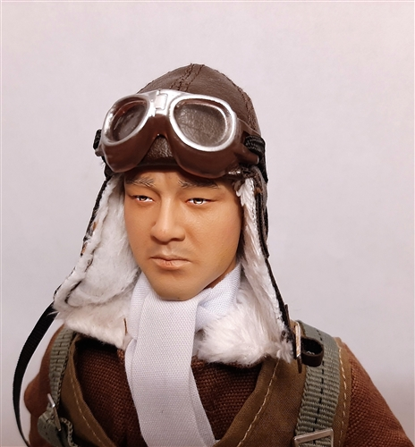 Rc Pilot Figure Wwii Japanese Pilot 1 6th Scale 1 5th Scale